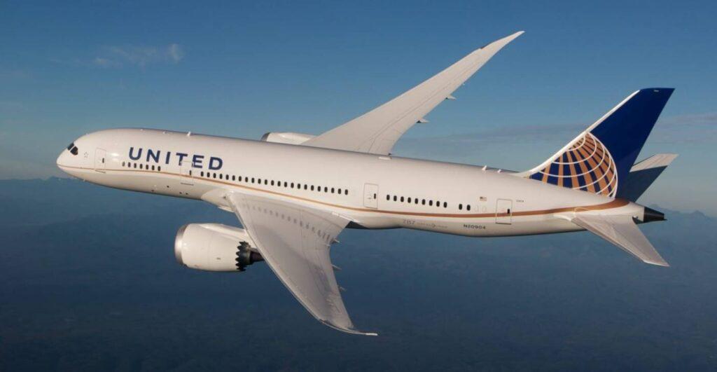 Boeing 787-8 da United