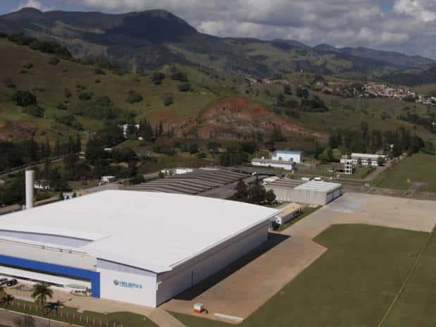 Fabrica da Helibrás no Brasil, empresa da Airbus Group e que está diretamente ligada a indústria de defesa