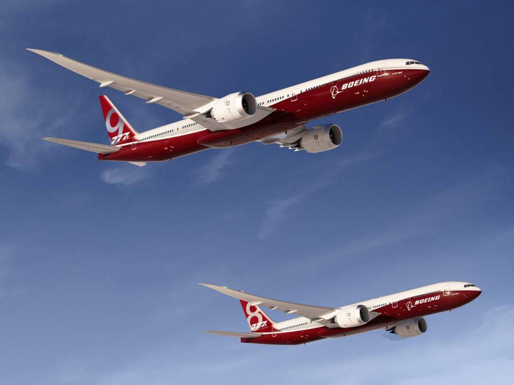 Boeing 777-8X & 777-9X Artwork K66011