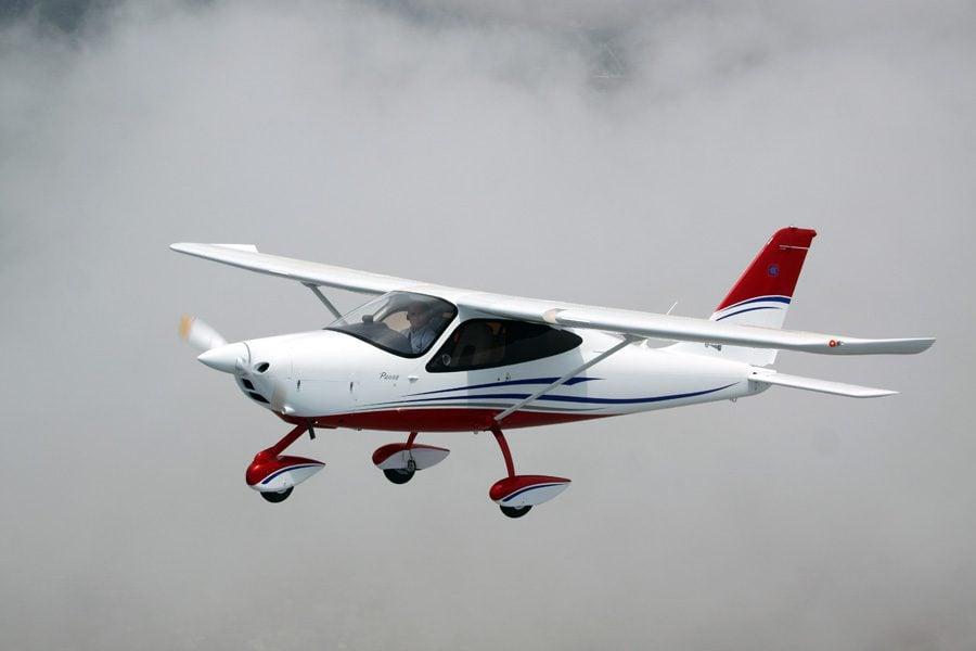 P2008 em voo