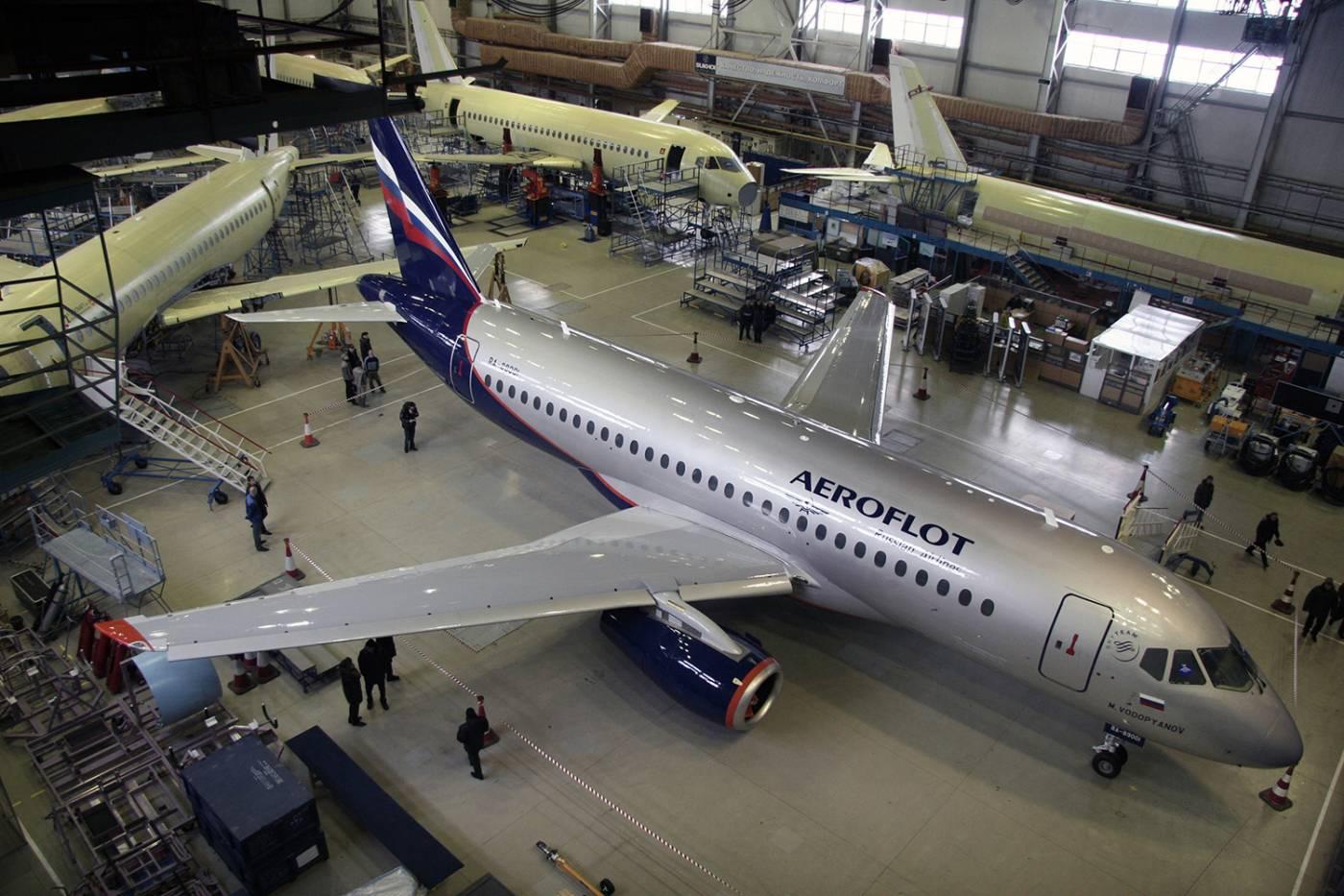 Sukhoi Superjet 100 Rússia MAKS 2021