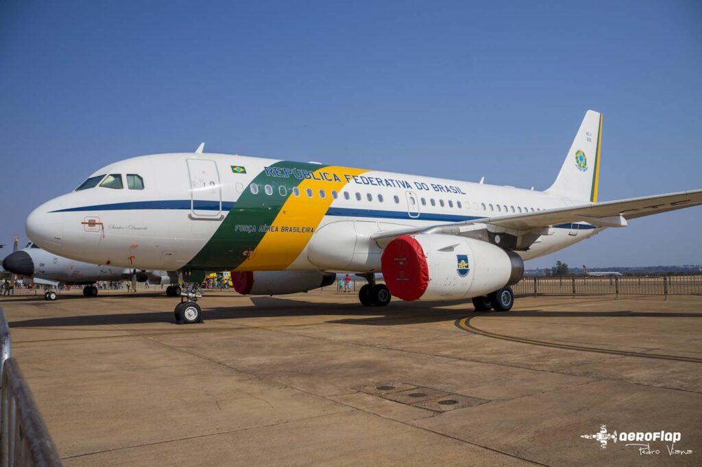 A319CJ presidencial do GTE.