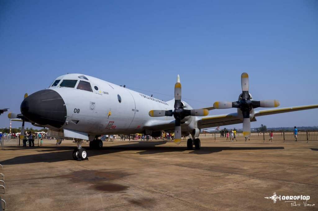 P3-Orion presente no Sábado Aéreo.