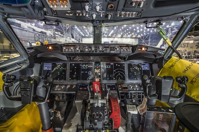 737 Max; Flight Deck; Renton Factory; K66450