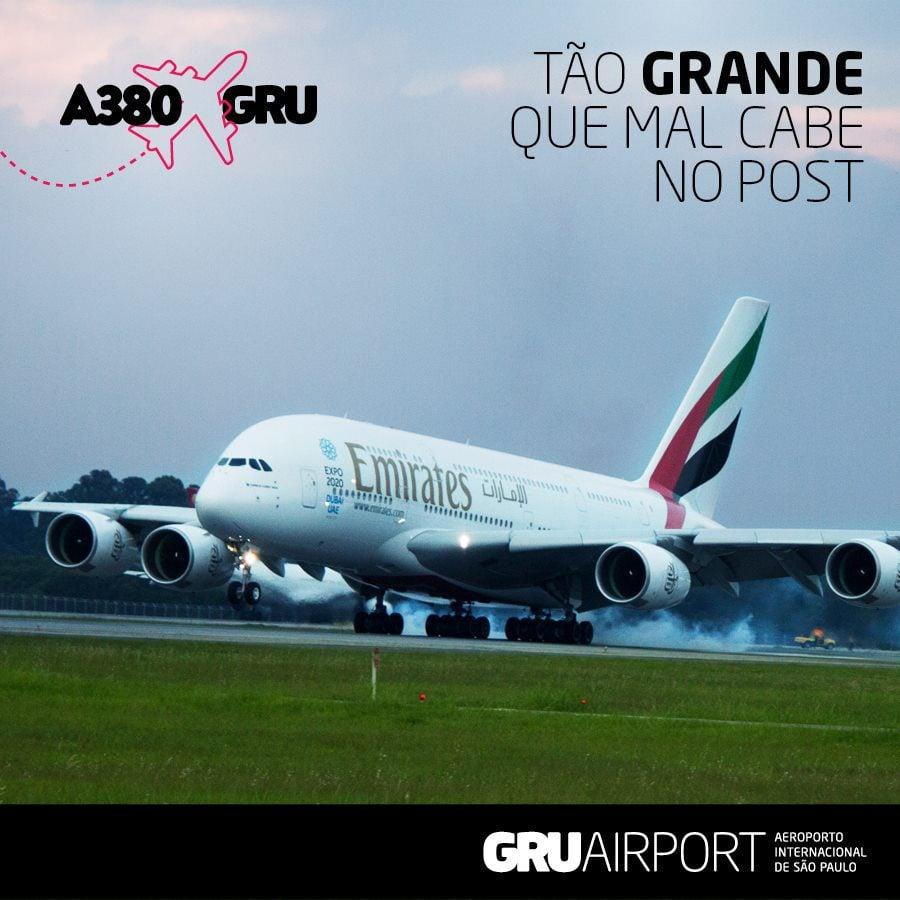 Divulgação oficial -GRUAirport