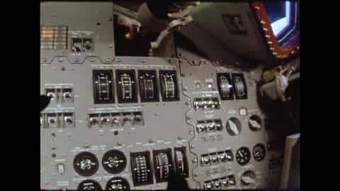 Instrumentos de voo espacial da Apollo 4.