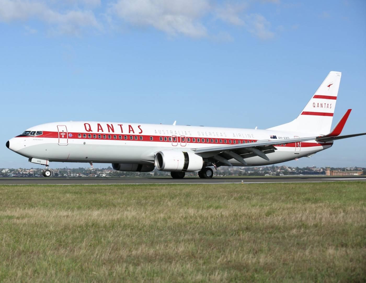 Qantas 737 Retrô