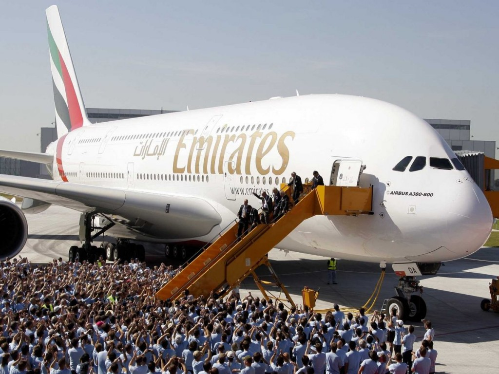 Emirates, maior cliente do A380.
