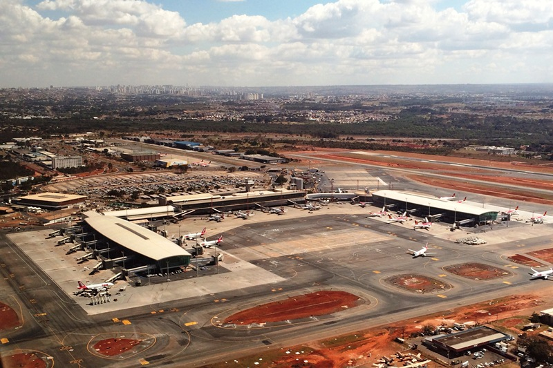 Aeroporto de Brasília atualmente. Foto - Jua Pita - Fornecida por Inframerica