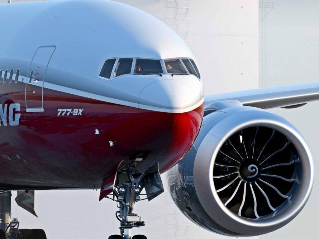 Motor irá equipar a aeronave de nova geração, Boeing 777X.