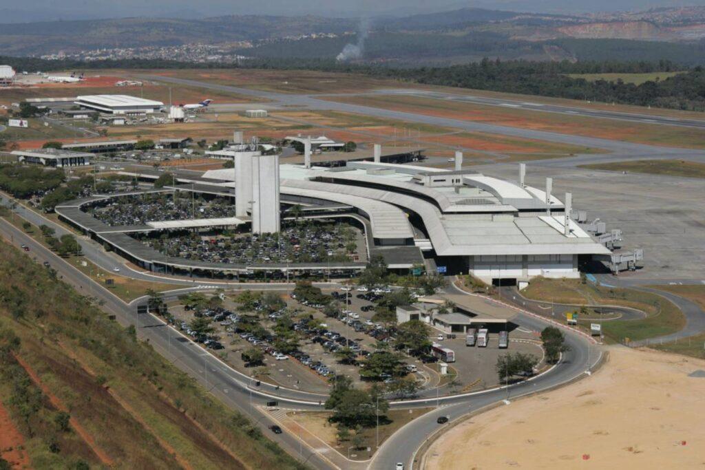 Aeroporto de Confins - Foto : Governo de Minas Gerais