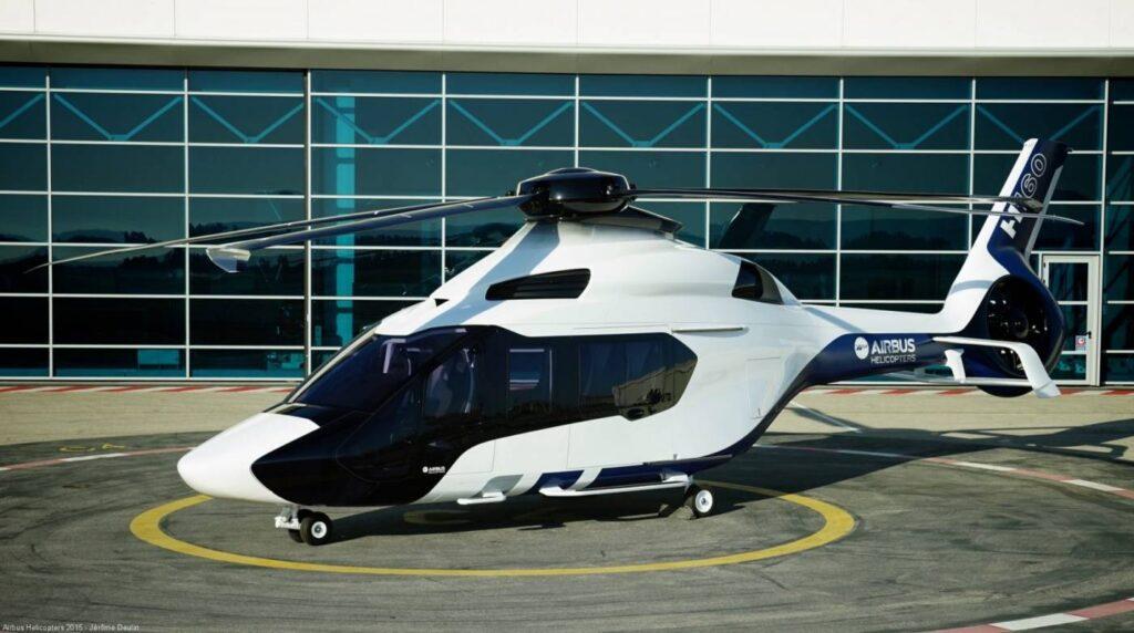 Novo modelo da Airbus para o mercado de Transporte executivo, H160.