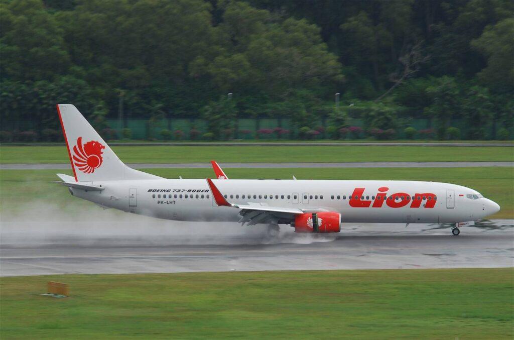 737-900ER em uso pela Lion Air.