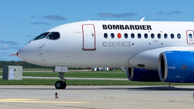 CSeries_back_from_first_flight