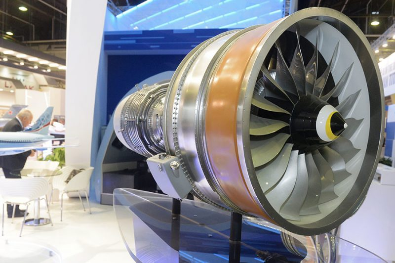 PD-14 motor turbofan do MC-12 | © Mikhail Voskresenskiy / Sputnik