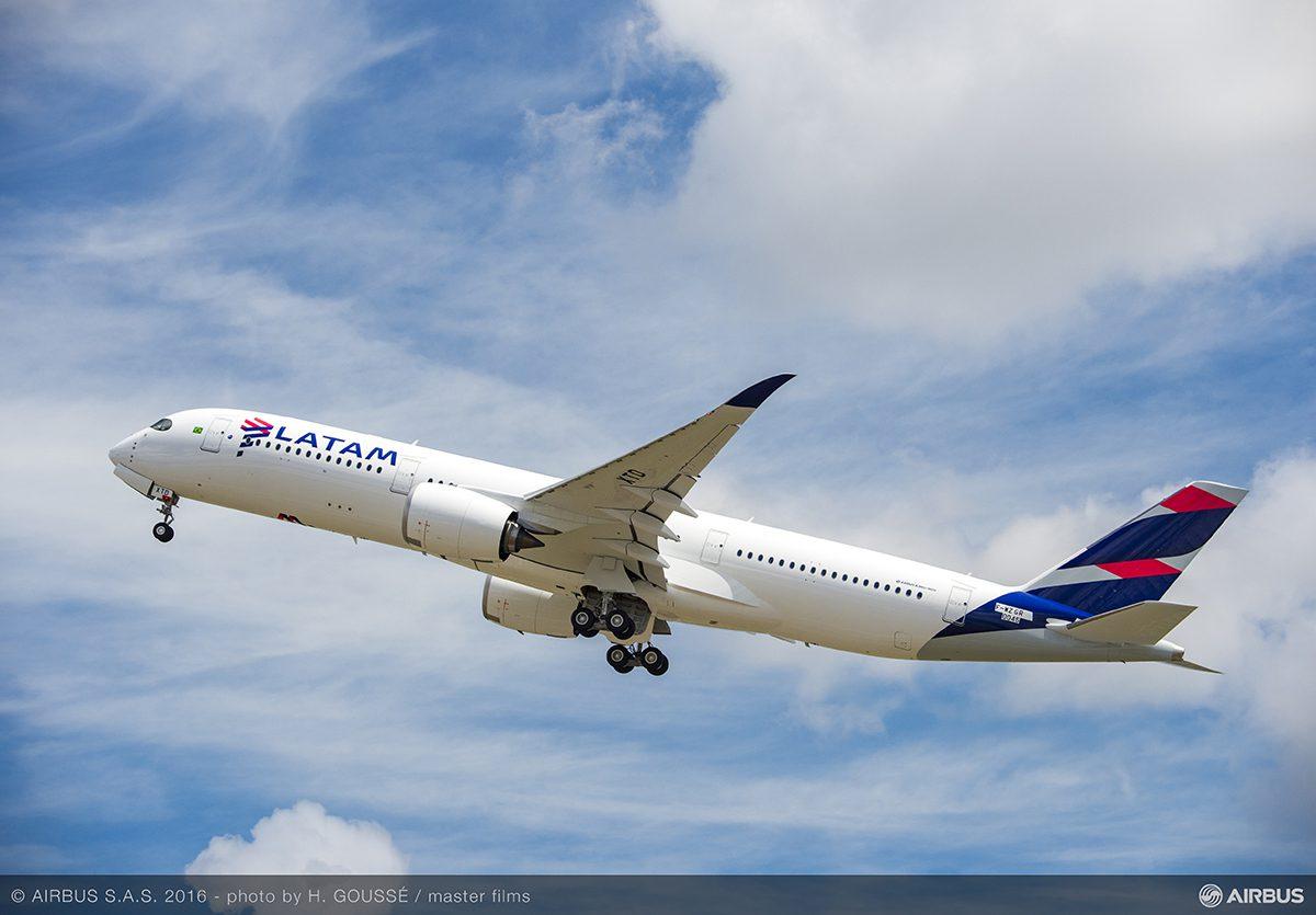 Airbus A350 LATAM