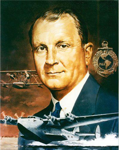 Juan Terry Trippe fundador da Pan Am.