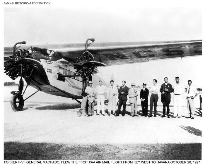 Umas das aeronaves da pioneira.