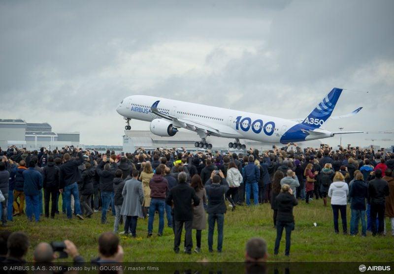 Airbus A350-1000 Rússia Aerospace