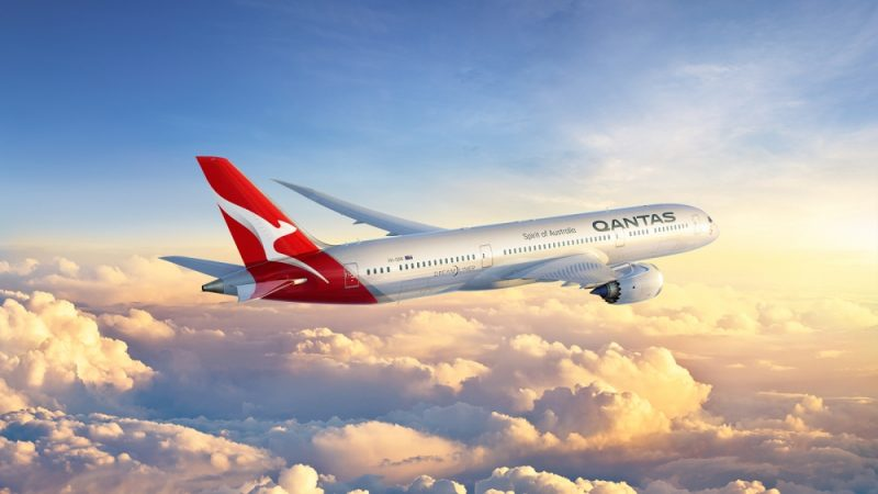 Qantas 787 Dreamliner. Photo: Boeing