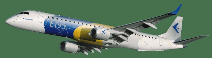 Resultado de imagen para Embraer E195 Azul png