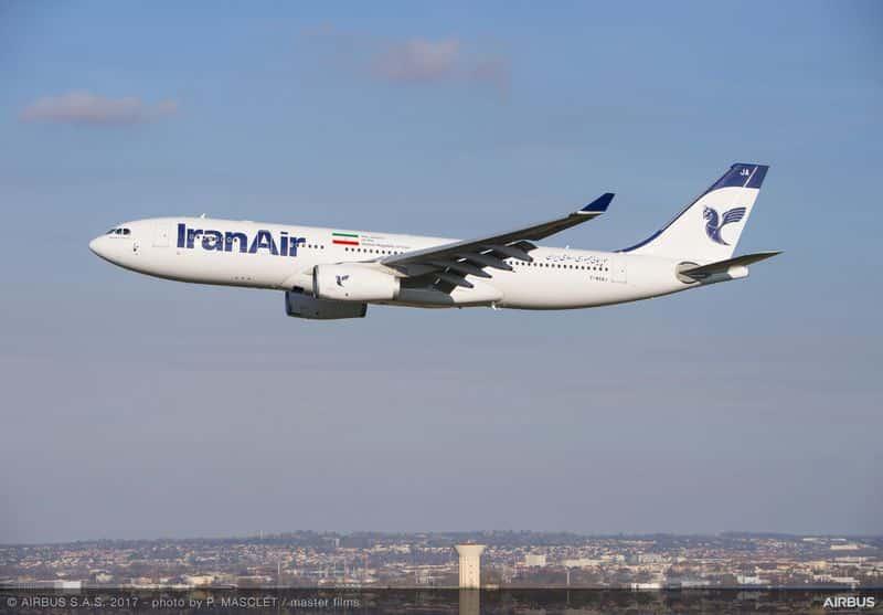 Iran Air Boeing Airbus Estados Unidos Irã