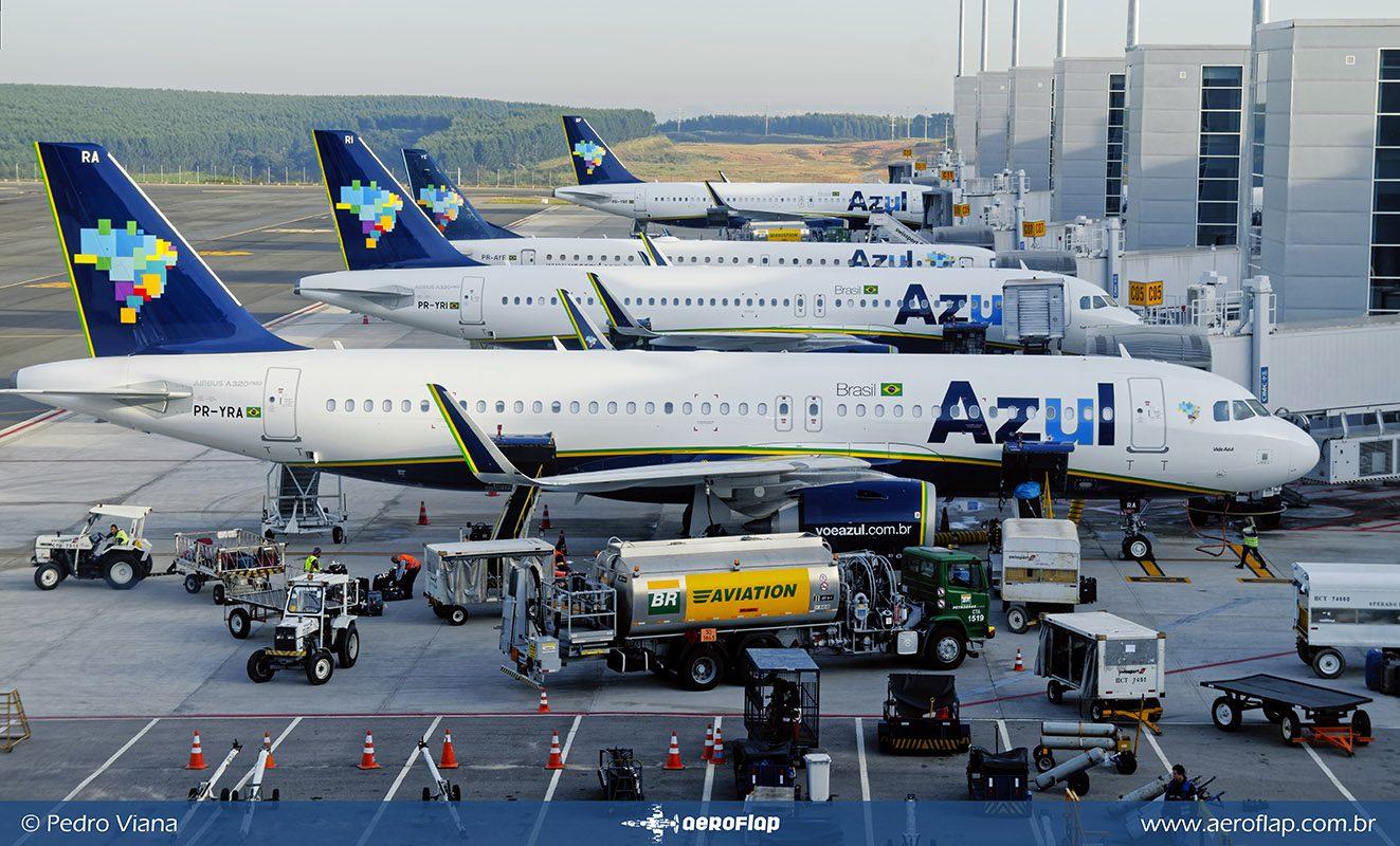 Combustível dos aviões