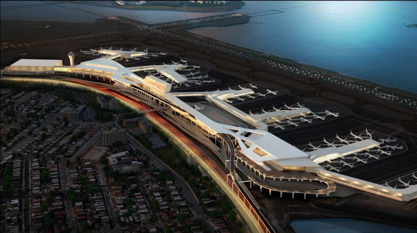 Aeroporto York : Delta criará novo terminal bilionário no aeroporto de la guardia em