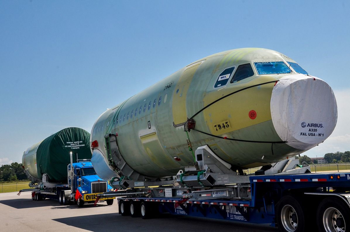 Airbus Aeronaves EUA Estados Unidos