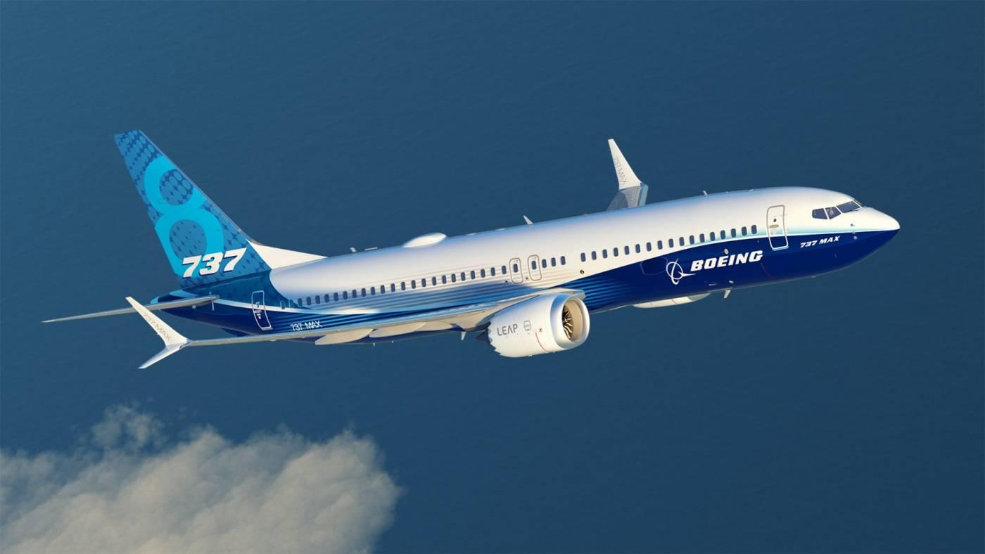 Resultado de imagem para Foto: o 737 Max da Boeing
