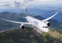 Boeing 787 United Airlines