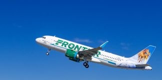 Frontier Airlines Airbus Pratt & Whitney
