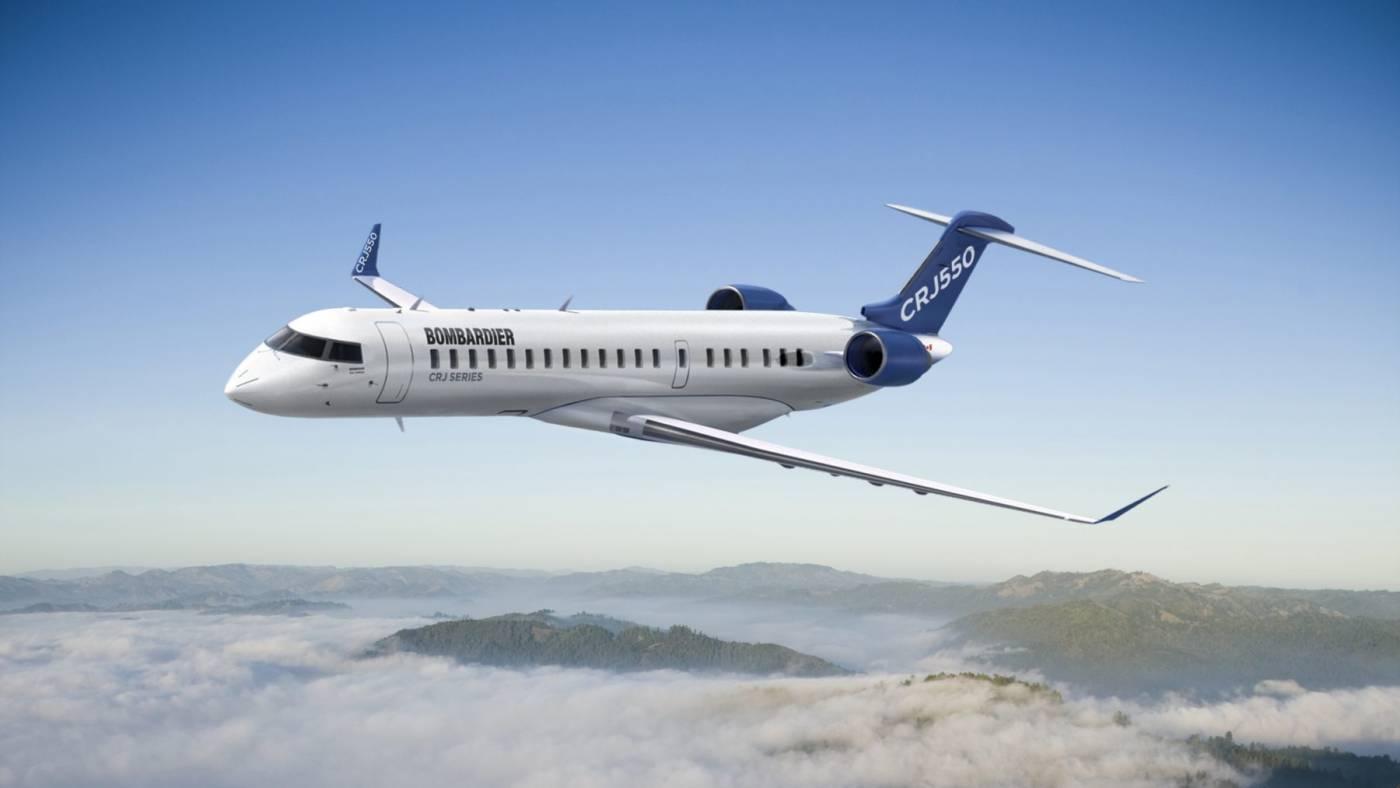Resultado de imagen para Bombardier CRJ 550