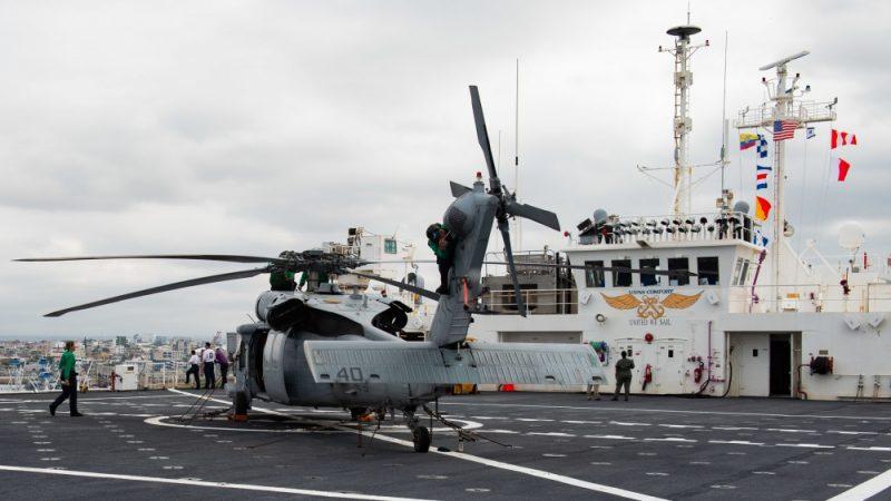 Navio Hospital Da US Navy Chega à Malta Para Missão Médica