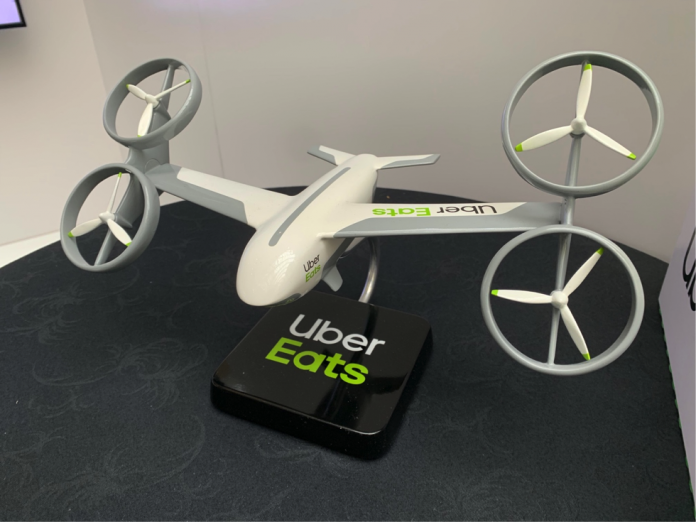 Drone comida