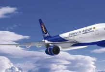 Boliviana de Aviación BoA Bolívia Voos