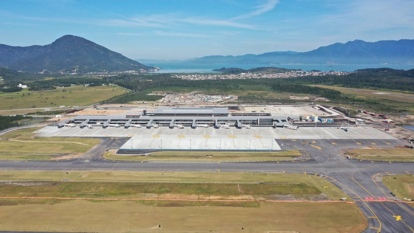 Resultado de imagen para inauguraçao Aeroporto Florianopolis