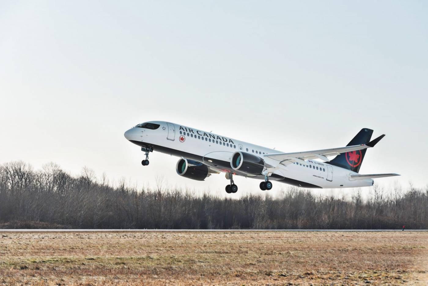 Resultado de imagen para airbus a220-300 air canada
