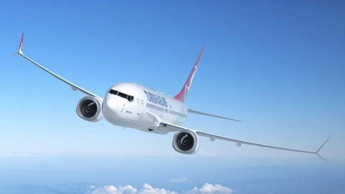 Turkish Airlines Boeing 737 MAX