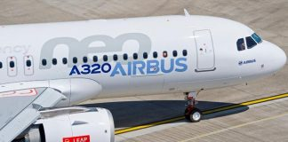 Airbus A320neo CFM Leap