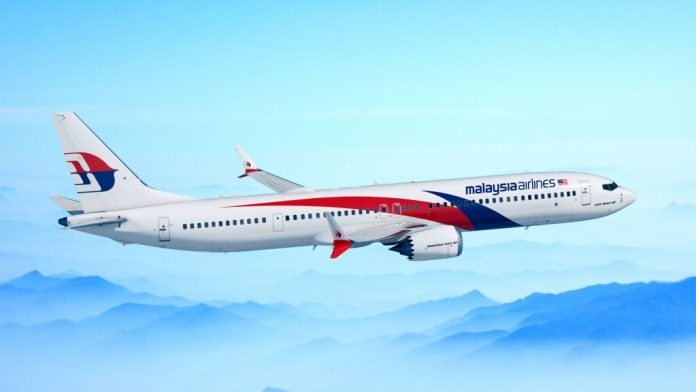 Malaysia Airlines Boeing 737 MAX