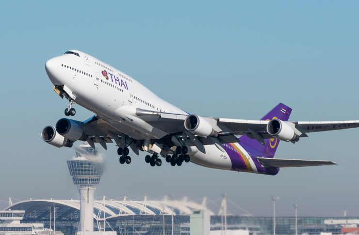 Thai Airways Tailândia Boeing 747