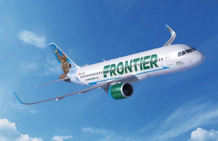 Airbus Frontier Airlines Pratt