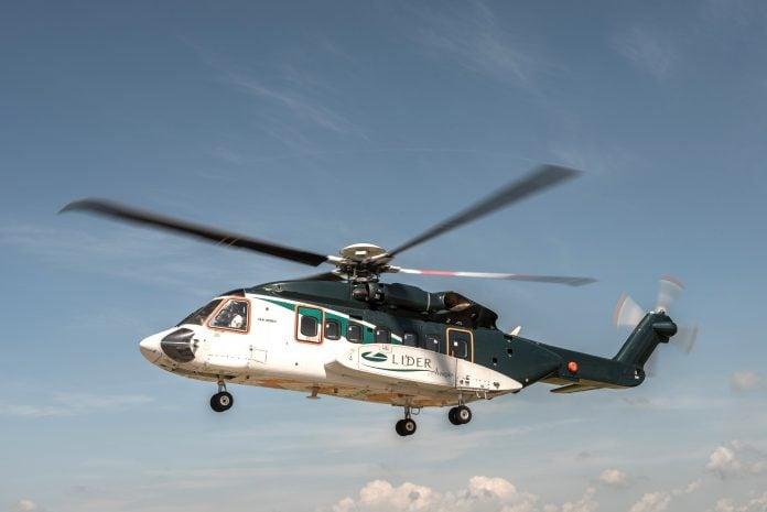 Líder Aviação Helicóptero Executiva
