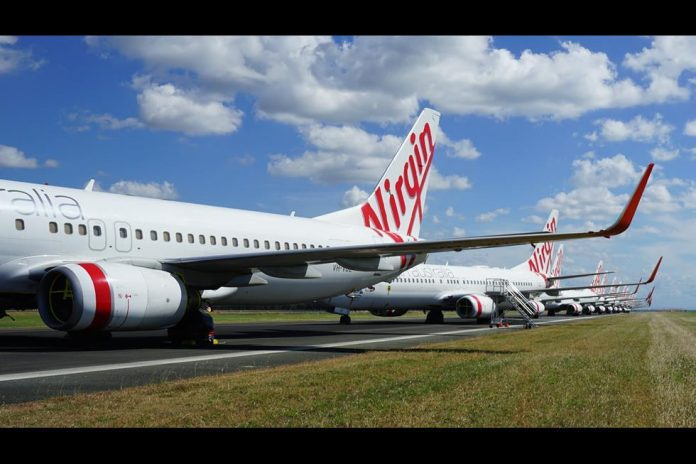 Virgin Austrália Boeing 737