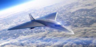 avião supersônico