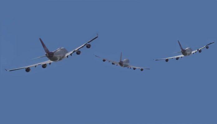 Boeing 747 - Virgin
