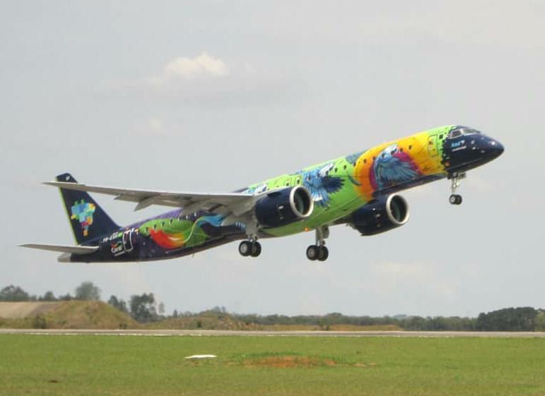 Embraer E195-E2 Azul