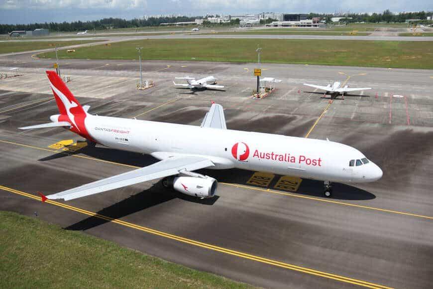 Airbus A321 P2F Qantas