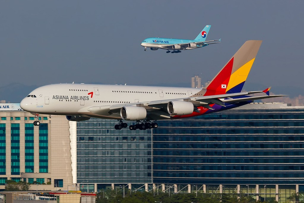 Asiana Airbus A380